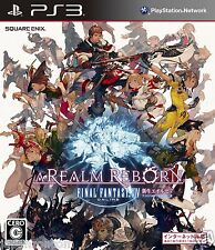 Used PS3 Final Fantasy XIV new SONY PLAYSTATION 3 JAPAN JAPANESE JAPONAIS IMPORT