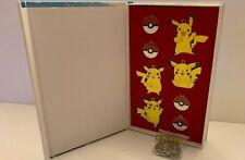 Pokemon Pocket Monster Necklace Amulet Box Set