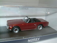 1/43 NOREV 1970 TRIUMPH TR6 IN DAMSON RED.