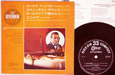 """SHIRLE BASSY """"Goldfinger"""" orig 1964 Japan ONLY 4 song EP w/ps BOND 007 CONNERY"""