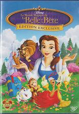 LE MONDE MAGIQUE DE LA BELLE ET LA BETE - Walt Disney - DVD