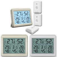 Digital_Display Outdoor Thermometer Hygrometer Temperature Humidity With Sensor