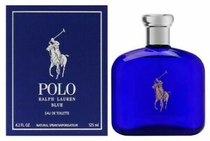 POLO BLUE by Ralph Lauren 4.2 oz 125 mL EDT Cologne Spray for Men NEW SEALED BOX