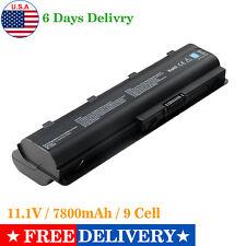 7800mAh Battery for HP/Compaq MU06 MU09 593553-001 593554-001 G62 CQ42 CQ32 Fast