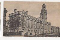 Town Hall Walsall 1916 Postcard 357a