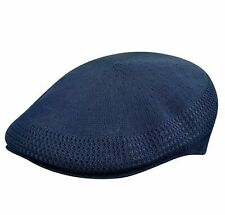 KANGOL Hat 504 Tropic Ventair Summer Flat Cap 0290BC Navy Blue Sizes: S - XL