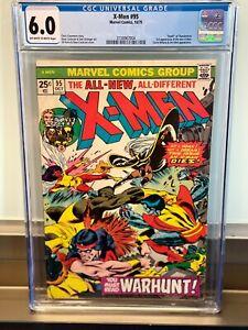 CGC 6.0 X-Men 95 3rd Appearance New X-Men John Byrne1980 Chris Claremont