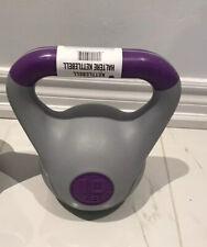 Tone Fitness 10lb Kettlebell ,Plastic - NEW