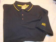 Barbour International 100% Cotton Slim Fit Black Polo Shirt NWT Medium $75