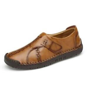 Mens Driving Moccasins Shoes Pumps Slip on Loafers Soft Comfy Walking Non-slip