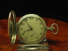 Eterna 800 Silber Tula Silber Tulasilber Savonette Taschenuhr von ca. 1914