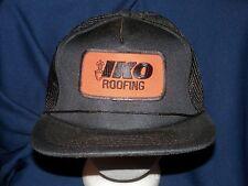trucker hat baseball cap IKO ROOFING retro vintage cool style nice unique rare