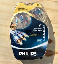 Philips M62795 RCA Component Cable for tv av audio video receiver NWT