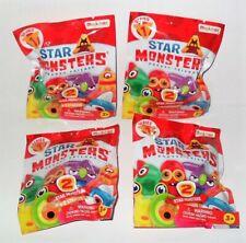 STAR MONSTERS POCKET FRIENDS SERIES 1 LOT OF (4) RANDOM BLIND BAGS