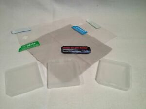 SCREEN PROTECTOR CLEANING CLOTH, 3 X GAME CASES  FOR NINTENDO 3DS
