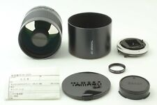 【CLA'd MINT】 Tamron SP 500mm f/8 55BB Tele Macro BBAR MC for Canon FD From JAPAN