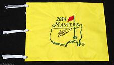 "BEN CRENSHAW SIGNED 2014 AUGUSTA MASTERS ""85 94"" INSC GOLF PIN FLAG US OPEN J1"