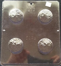 Cookie with Sand Dollar Oreo Mold Chocolate Plastic Candy Soap CML 1642