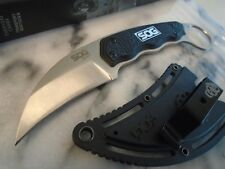 SOG Gambit Karambit Fixed Blade Claw Dagger Combat Hunter Boot Knife GB1001CP