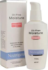 Neutrogena Oil Free Moisture Combination Skin 118 ml x 2 bottles