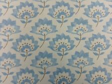 Clarke and Clarke Gracie Blue Designer Curtain Upholstery Fabric