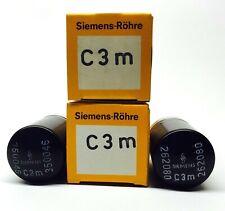 Matched Pair  C3m Siemens NOS German Valve Tubes