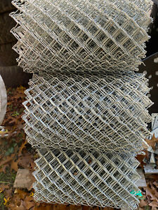"50' Master Halco 2"" x 9ga x 2' Chain Link Fence Made in USA Local Pickup Only"