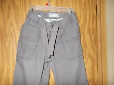 Girl's Old Navy 100% Cotton Gray Size 12  Pants Adjustable Waist    read below