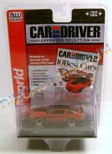 2012 '12 FORD MUSTANG BOSS 302 RED CAR AND DRIVER PREMIUM AUTOWORLD AW DIECAST