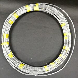 """Aluminum Cable 3/8"""" Stranded Wire Bare 135 Feet"""