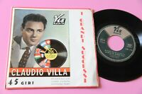 Claudio Villa EP I'M A Ho Palanca Eléctrica.. Para Te 4 Songs Original 1957 EX