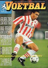 MAGAZINE VOETBAL 1994 nr. 02 - RONALDO/PSV/PETER BOSZ/NIEUW WOENSEL