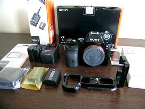Sony A7R 36.4MP digital mirror less Full Frame camera + accessories Original Box