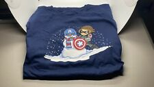Captain America Bucky Winter Soldier Marvel T-Shirt Loot Crate EXCLUSIVE XXXL