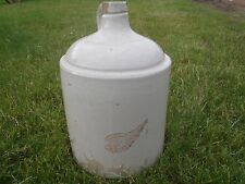 RARE VINTAGE  EARLY 1900 STONEWARE RED WING JUG,LARGE WING