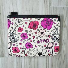 """Coach Kyra Tablet Sleeve Pouch Daisy Poppy Floral Flower 10""""x8"""" NEW"""