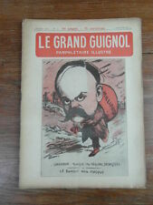 Revue LE GRAND GUIGNOL PAMPHLETAIRE ILLUSTRE No 10 (11 Janv.1922) G. ANQUETIL