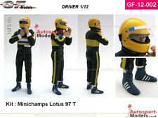 1/12 Ayrton Senna at Williams Renault figure kit with decal set by GF Models 02
