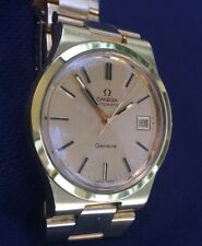 Vintage OMEGA GENEVE Automatic Mens Watch With  Date in STUNNING CONDITION!