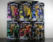 COMPLETE SET 6 Power Rangers ZEO Legacy 6.5 Megazord BAF Pink Yellow Gold Ranger