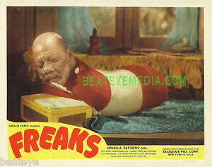FREAKS MOVIE POSTER PRINT-SCIFI,HORROR,SIDESHOWS,CIRCUS