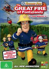 Fireman Sam - The Great Fire Of Pontypandy : The Movie (DVD, 2010) Region 4 VGC
