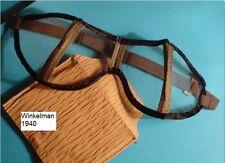 Duitse WEHRMACHT Stofbril M1942   HELDER   orig. AUER Berlin WW2 Goggles