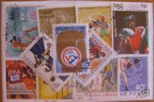 25  verschiedene Briefmarken Boxen , Boxing