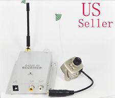 Mini Wireless Security Nanny Camera Hidden Spy Micro 6 Led Cam Complete System
