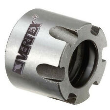ER16 Collet Castellated Clamping Nut M19 x 1.0 Industrial Quality Vertex Taiwan