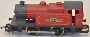 """R853 HORNBY CLASS D INDUSTRIAL TANK LOCOMOTIVE """"QUEEN MARY"""" No43 RED PRE-OWNED"""