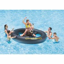 Intex Inflata-Bull Big 2.39m Inflatable Pool Toy Float Raft Outdoor Fun Games