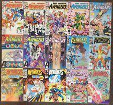 The Avengers #248,249,250,251,252,253,254,255,256,258,259,260,261,262,263 Marvel