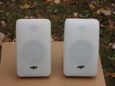 Polkaudio  4-6 ohm Two way In door/Out Door speakers In good Condition!
